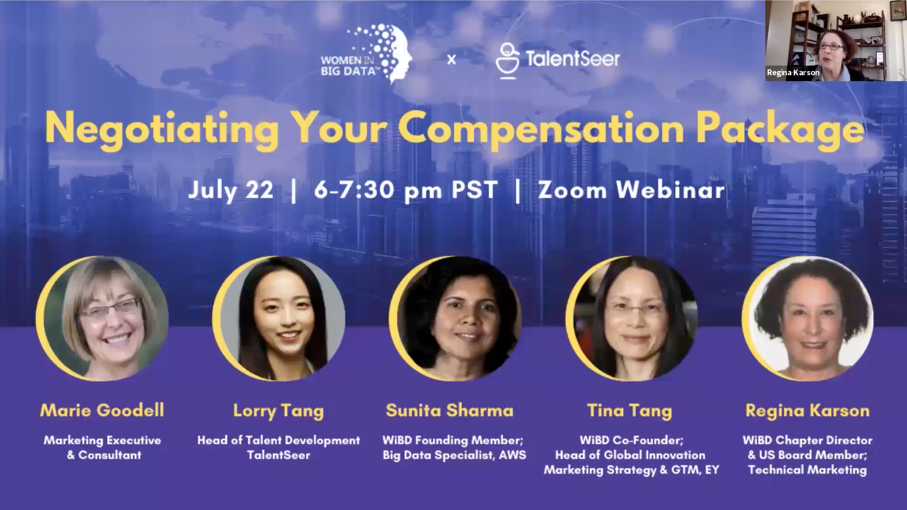 Negotiating Your Compensation Package [WiBD X TalentSeer Live Panel Recording]